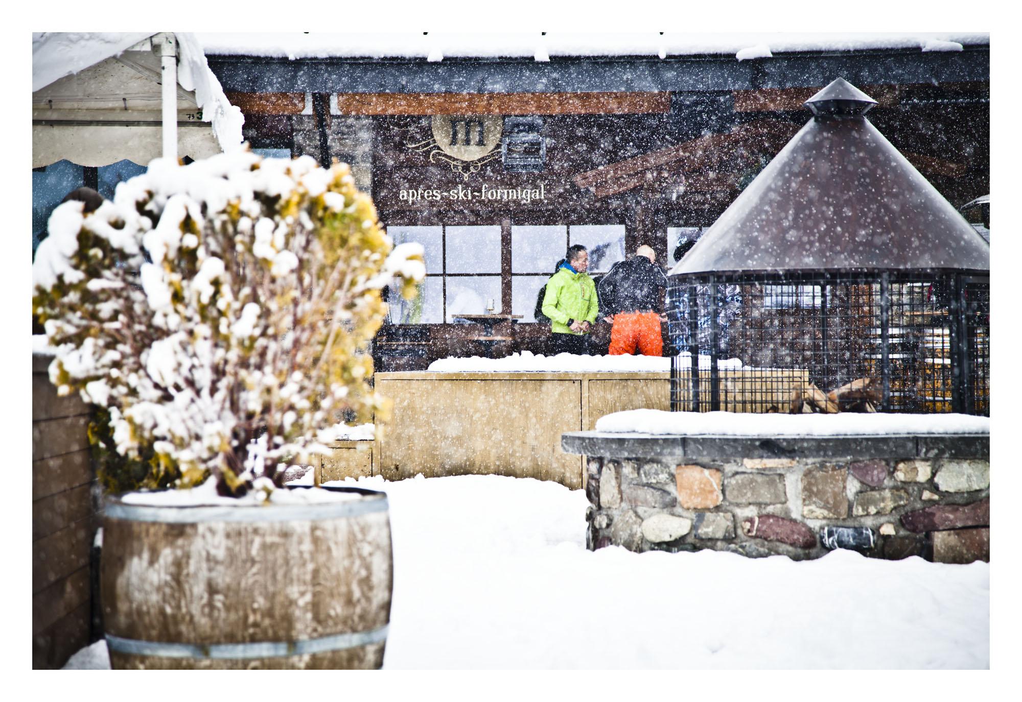 nevando hoy en Sextas, Formigal