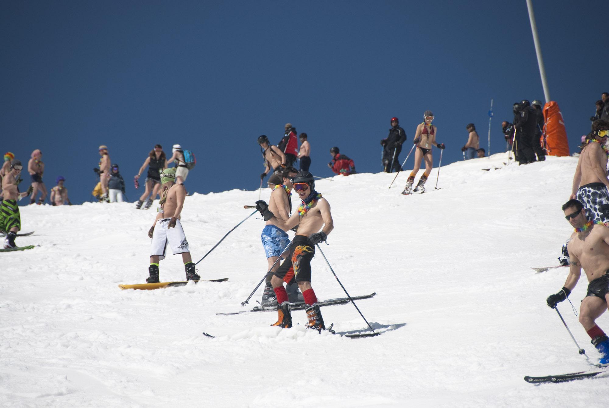 Los esquiadores volverán a ponerse en bañador para despedir la temporada