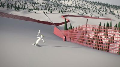 simulación esquiadores ampliación pistas Valdelinares