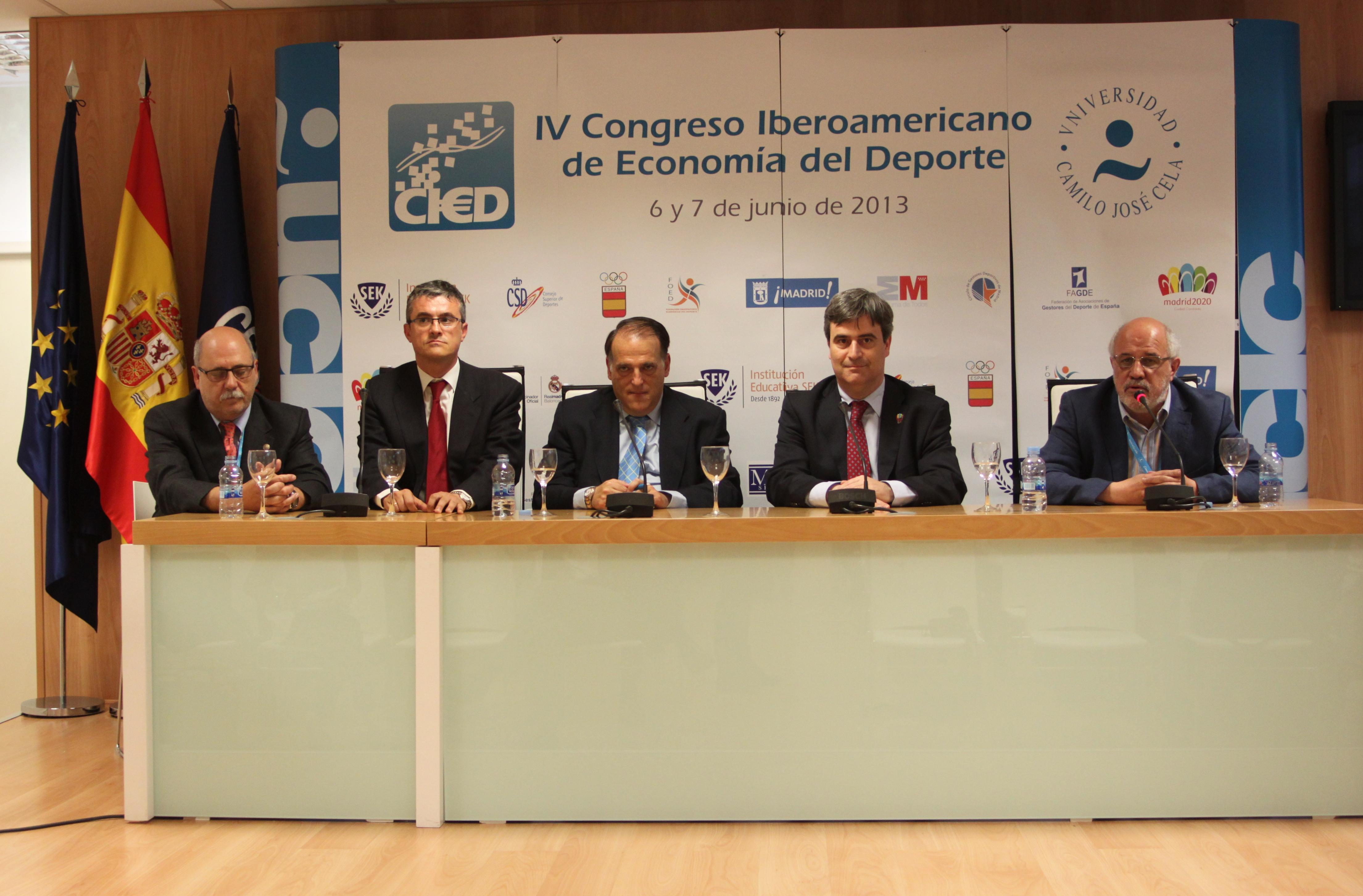 La pasada edición del Congreso de Economía del Deporte