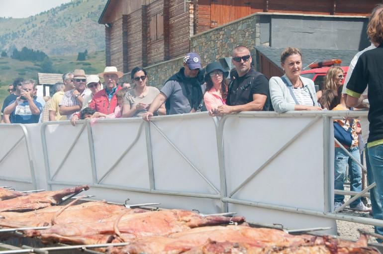 Esta pasada edición de la Fiesta del Cordero en Aramón Cerler