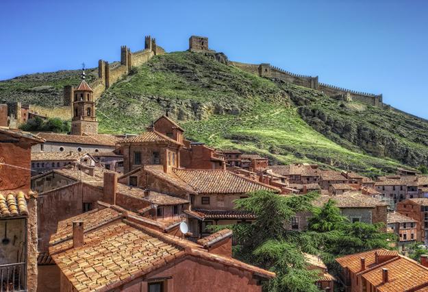 Albarracin-muralla