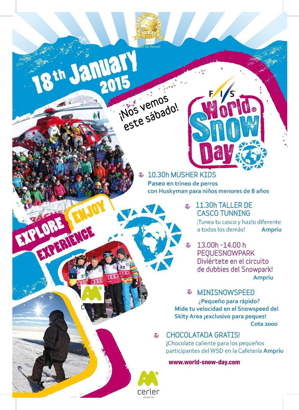 Cartel del evento en Cerler