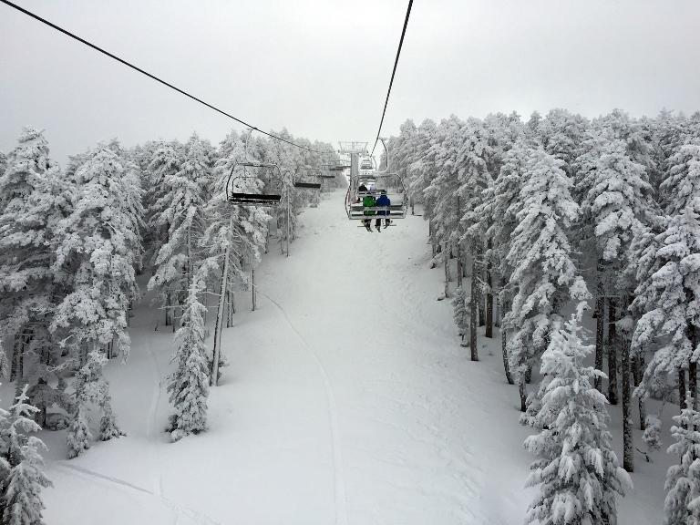 Valdelinares hoy, con 30 nuevos cm de nieve