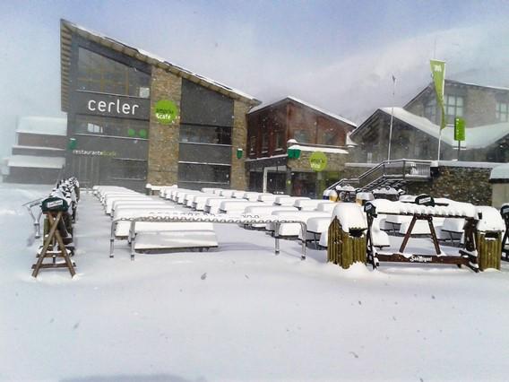 Primeras nevadas importantes  9 dic.