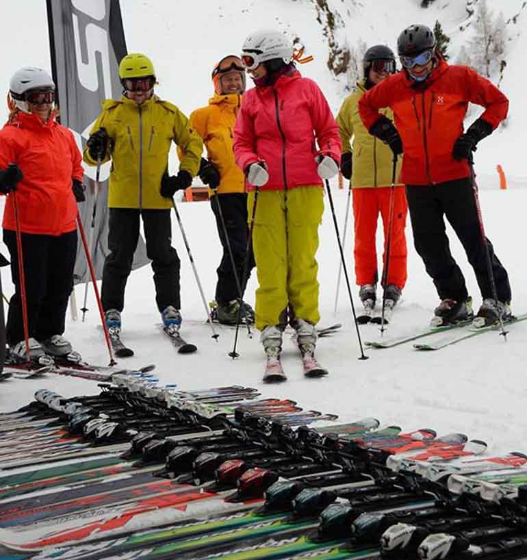 Accesorios para esquiar. ¿Qué me pongo?