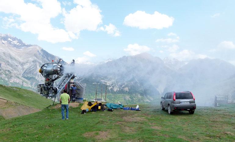 ¿En qué se trabaja durante el verano en las estaciones de esquí?