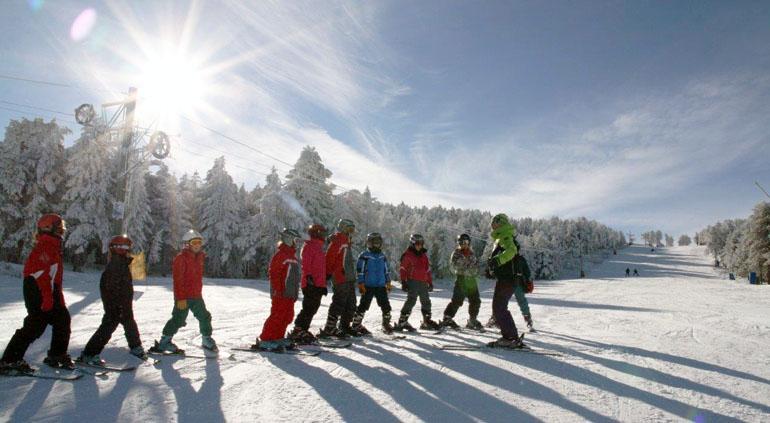 Ejercicios para realizar antes y después de esquiar