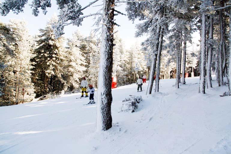 Calidad y cantidad de nieve en un fin de semana repleto de competiciones de esquí