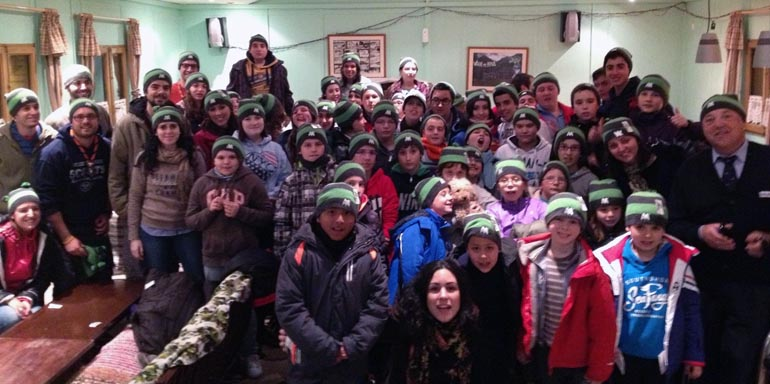Niños con cáncer de toda España aprenderán a esquiar este fin de semana en Aramón