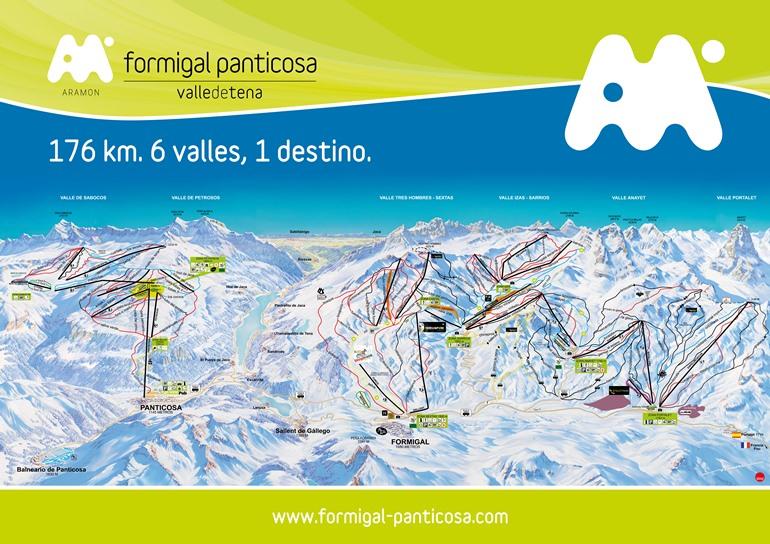 Formigal-Panticosa: un destino vacacional de invierno de 176 kilómetros esquiables