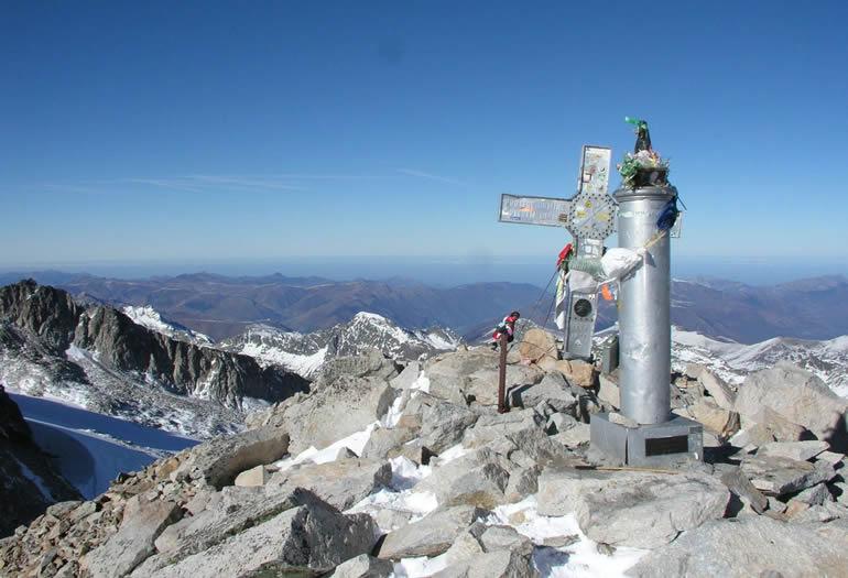 Los principales tresmiles del Pirineo