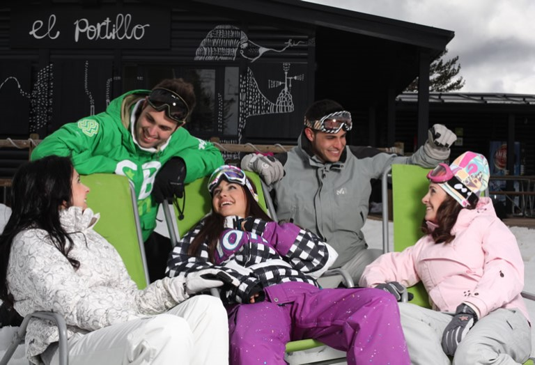Cómo vestirse a la hora de esquiar