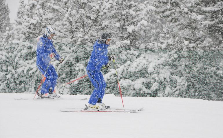 Hasta 40 centímetros de nieve fresca en las estaciones oscenses