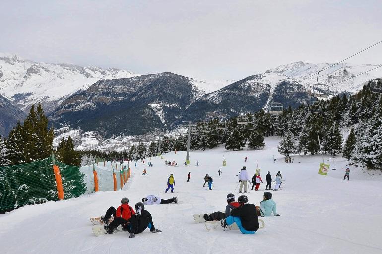 Gran calidad de nieve y 181 kilómetros esquiables en Aramón