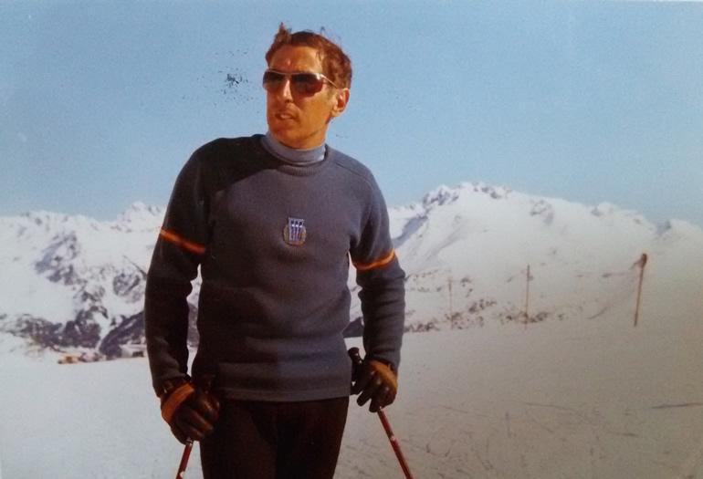 """Mariano Fanlo: """"No me canso de esquiar"""""""