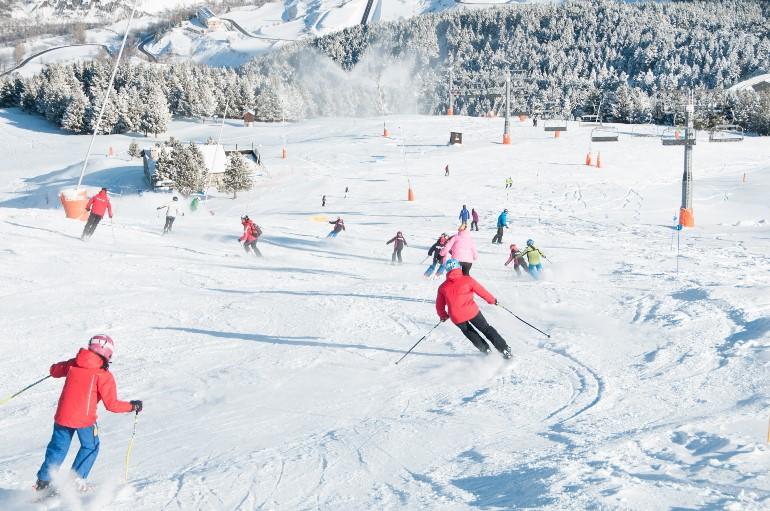 La recuperación tras una jornada de esquí