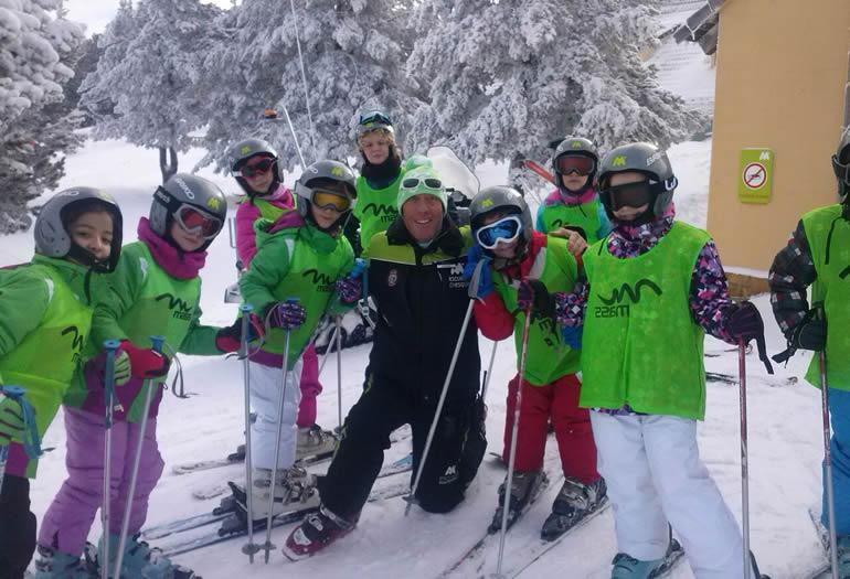 """Fernando Mohedano: """"El monitor tiene que hacer que el esquí sea fácil y divertido"""""""