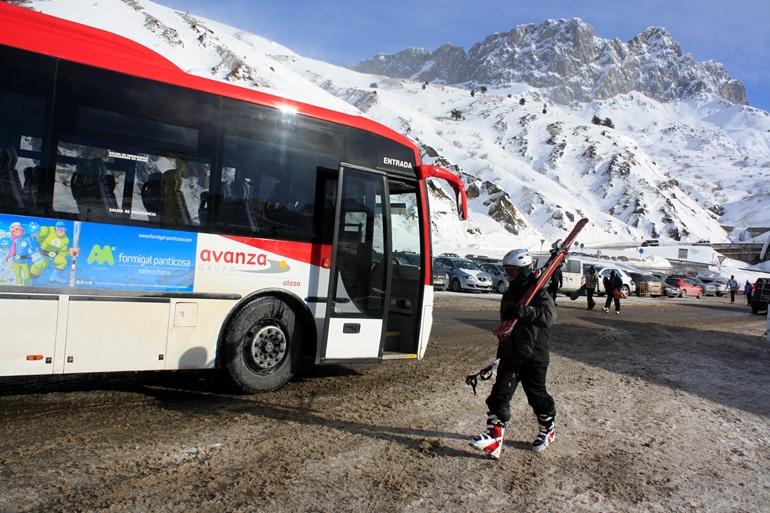 Formigal y Panticosa se unen al club de estaciones europeas unidas por autobús