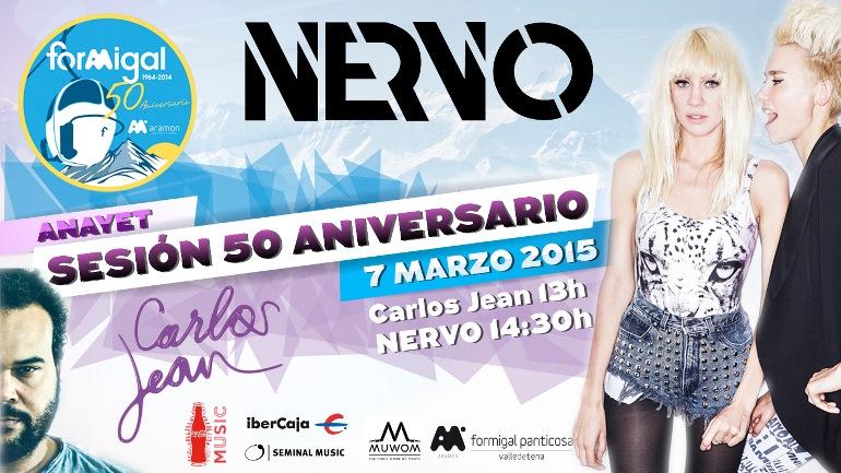 Las Dj Nervo, protagonistas del gran concierto Formigal 50 aniversario