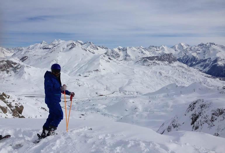 """""""No soy el típico fisio obsesionado con no lesionarme, cuando esquío sólo pienso en disfrutar"""""""