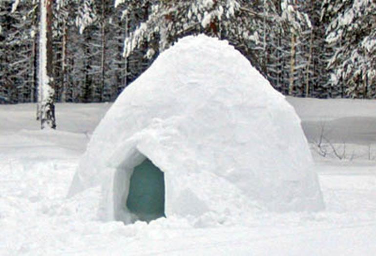¿Por qué son cálidos los iglús?