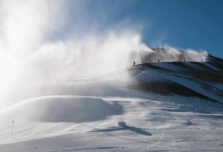 Ampliando el dominio esquiable