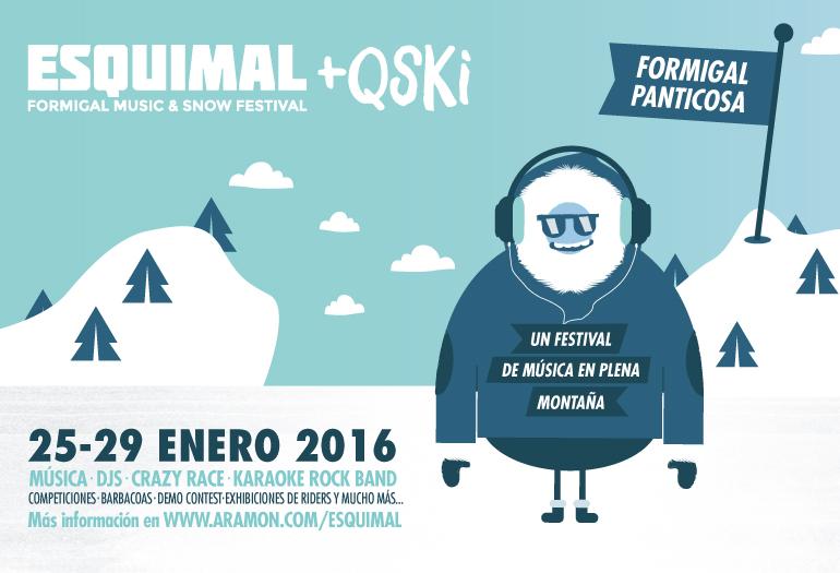 EMPIEZA LA VENTA DE ENTRADAS PARA EL FESTIVAL ESQUIMAL +QSKI
