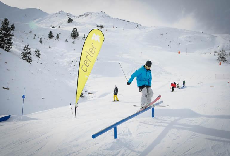 ¿Conoces todos los snowparks de las estaciones Aramón?