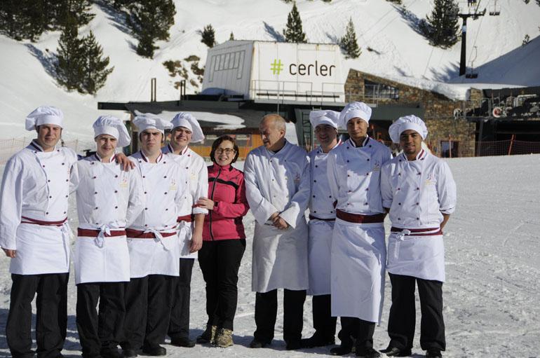Cómo se cocina el Snowcooking Guayente-Cerler
