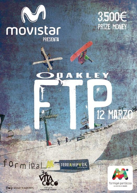 Movistar os trae la Oakley FTP, freestyle en estado puro