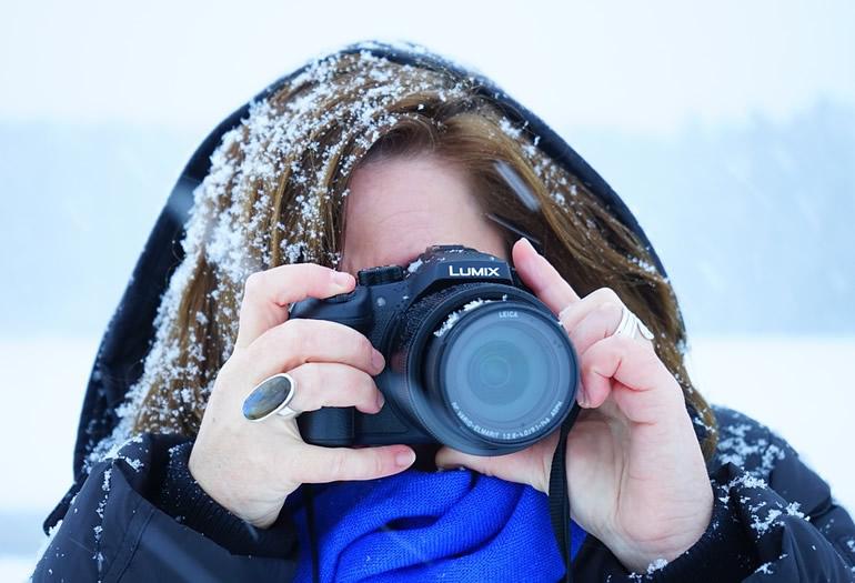 Cómo usar tu cámara cuando esquías