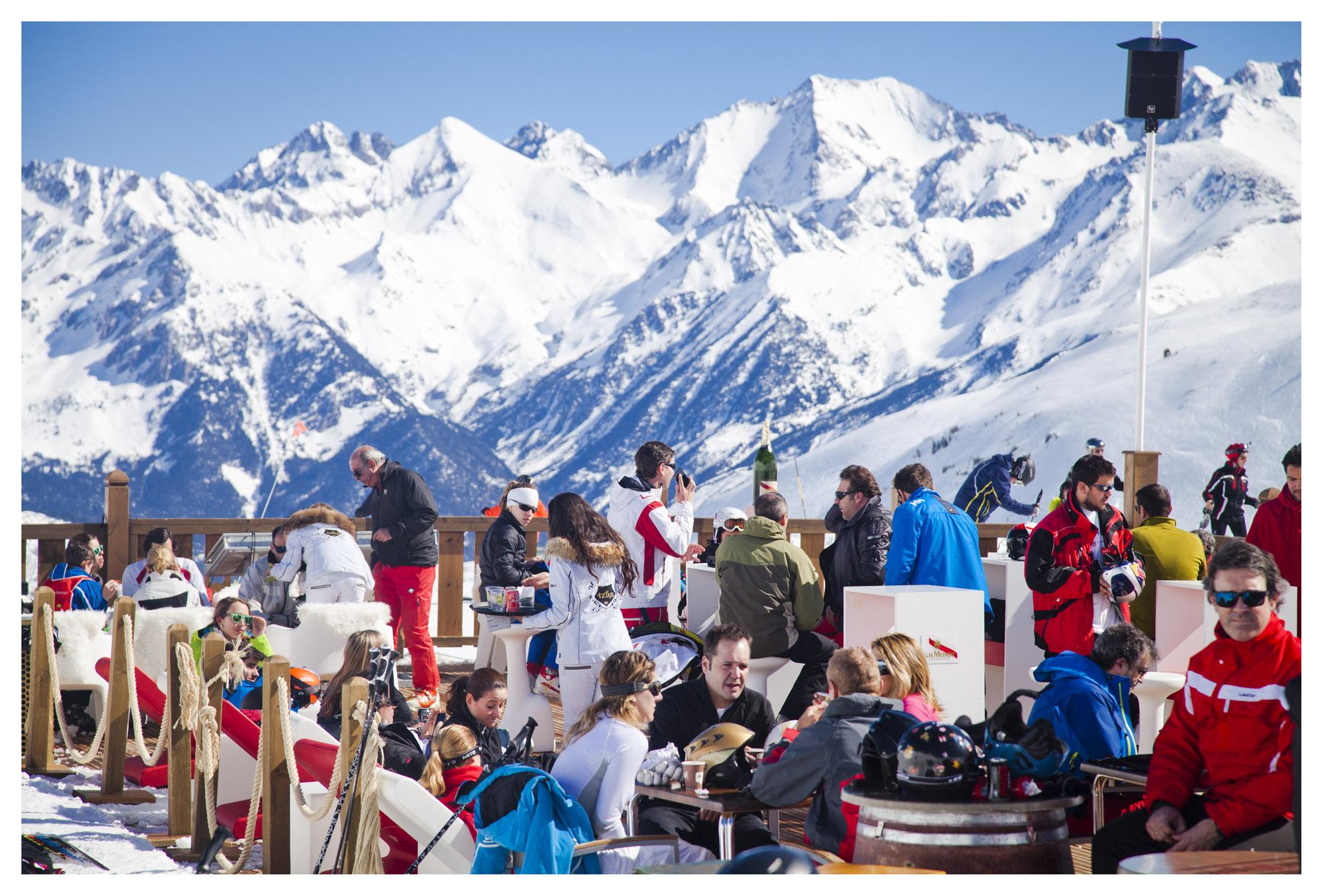 Lo que debes comer cuando subes a esquiar
