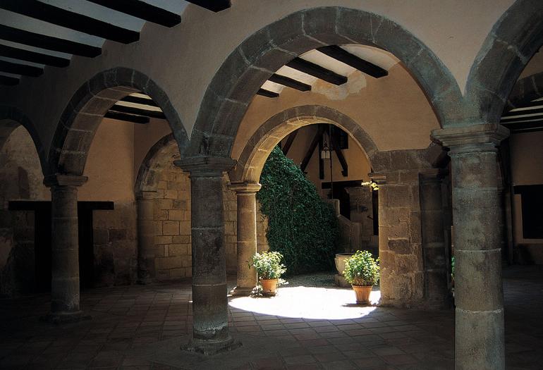 Fotografía tomada en Mora de Rubielos, en la provincia de Teruel