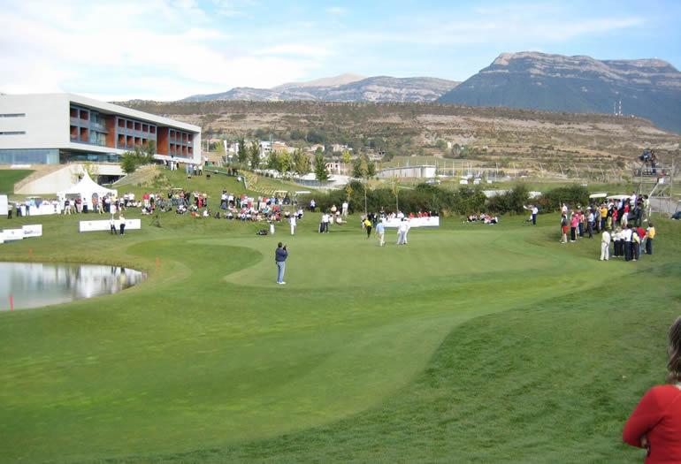 campo de golf de las Margas, diseñado por Olazábal