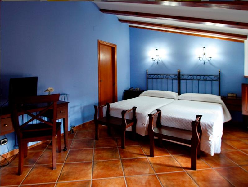 El hotel Jaime I de Mora de Rubielos cuenta con 30 habitaciones