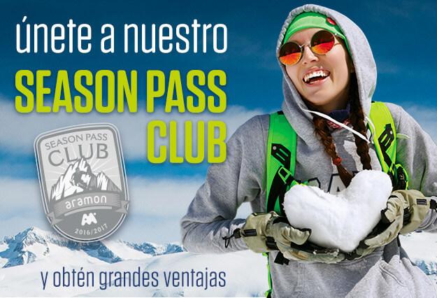 Entra a formar parte del Season Pass Club y conseguirás ventajas exclusivas