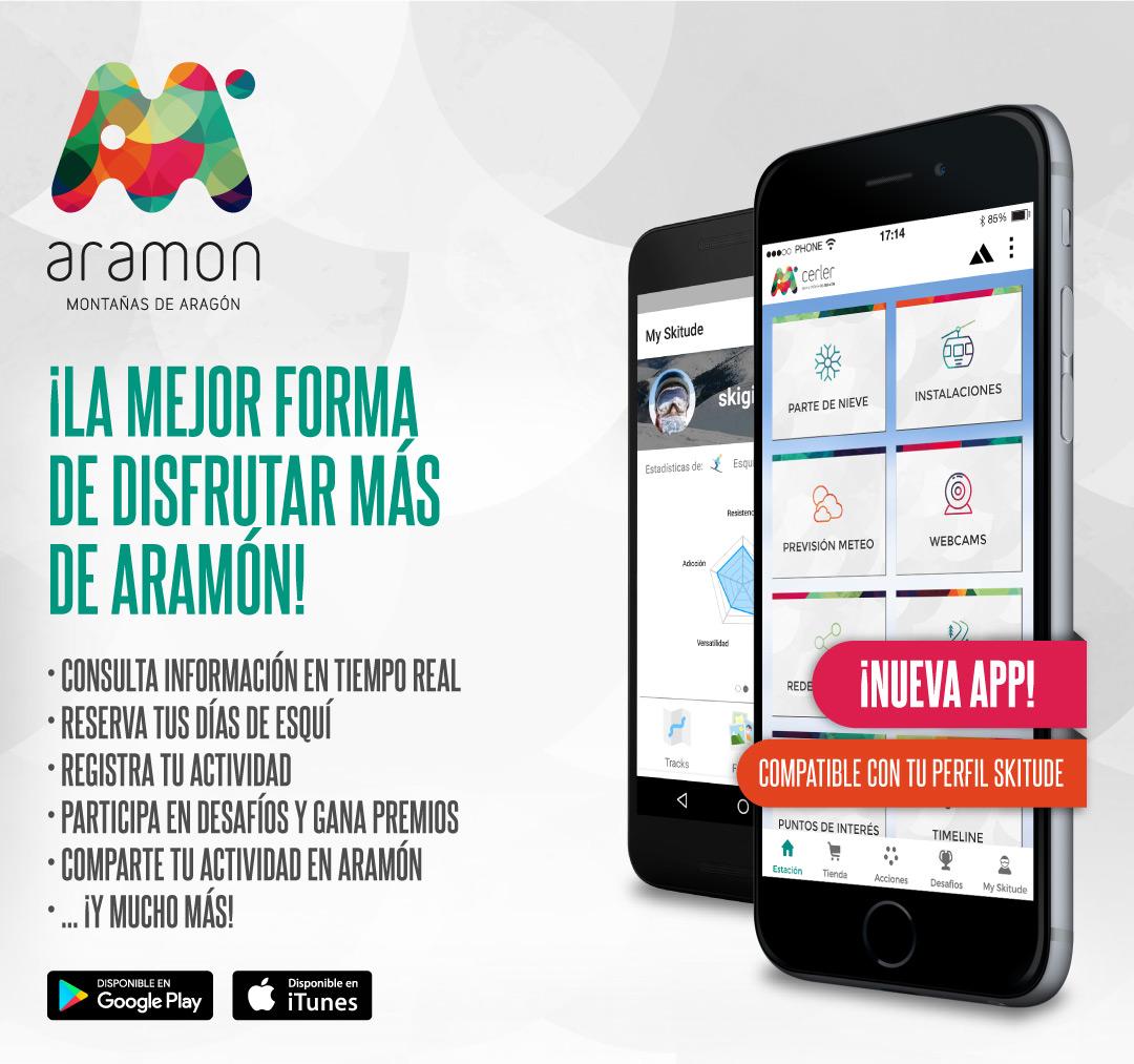 La app de Aramón, tu aliado imprescindible en la nieve