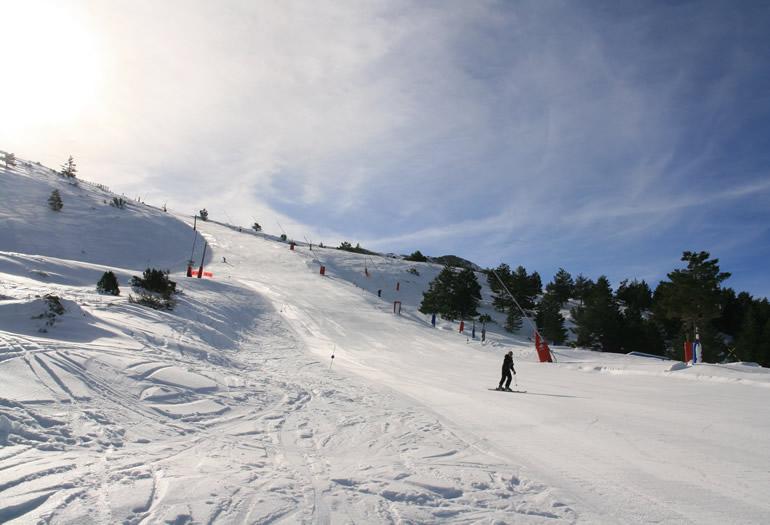 Guía para expertos esquiadores en Javalambre
