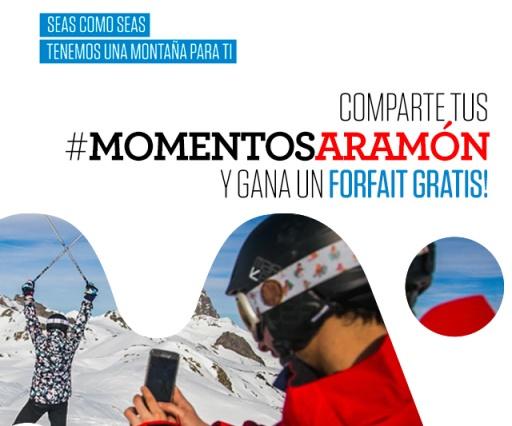 Consigue un forfait gratis con Instagramers y Grupo Aramón
