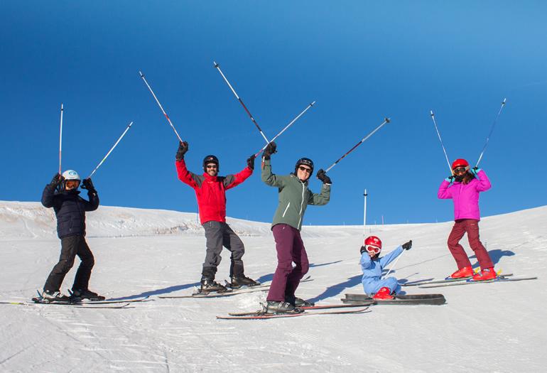 Los mejores ejercicios de calentamiento para esquiar