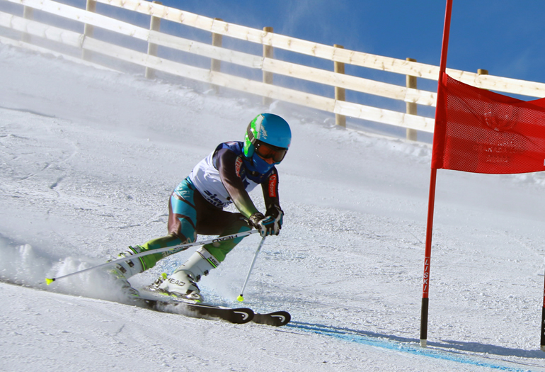 """Jaime Almenar, campeón de España de esquí adaptado: """"Sueño con ir a los Juegos Paralímpicos"""""""