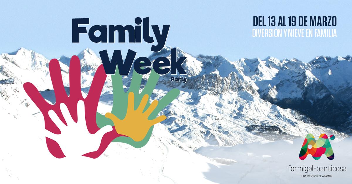 'Family Week', diversión para todos del 13 al 19 de marzo en Formigal-Panticosa