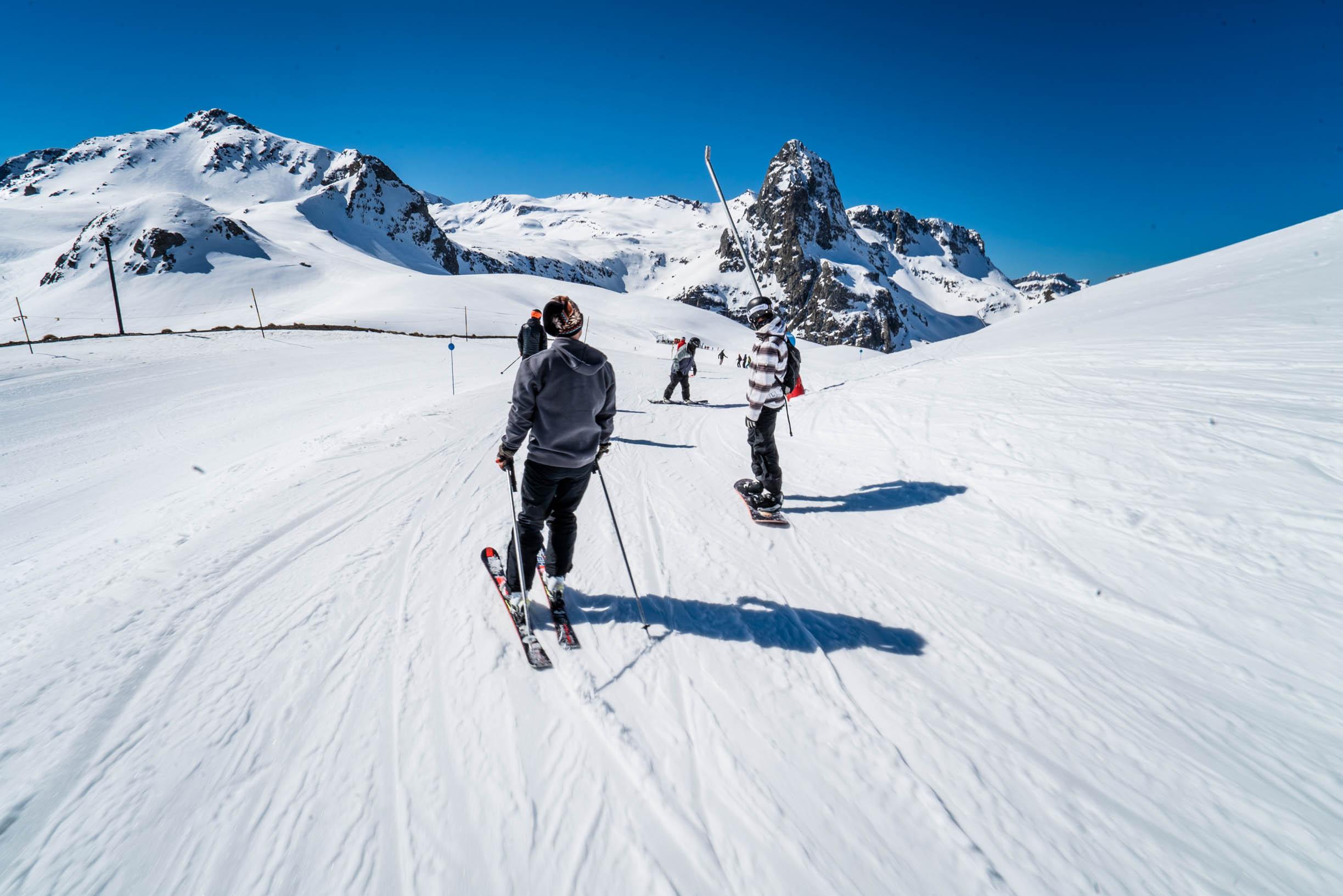 Esquiadores en las pistas de Formigal este miércoles
