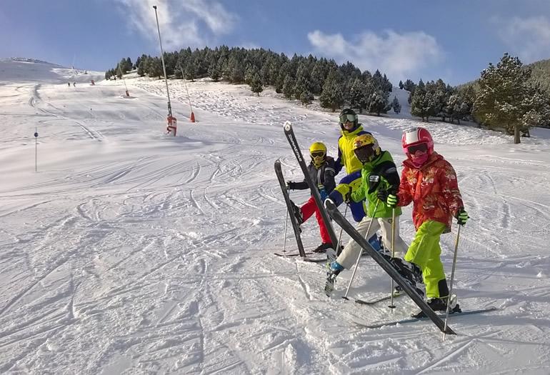 El esquí, un chute de energía y vitalidad