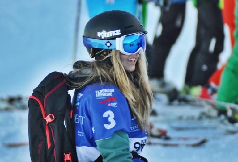 """Alba Terés: """"Quiero seguir aprendiendo y enseñar a disfrutar a otras personas del snowboard"""""""