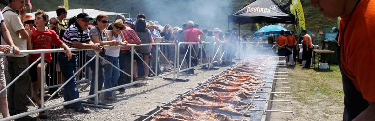 La fiesta del cordero cierra la temporada estival en la estación de Cerler.