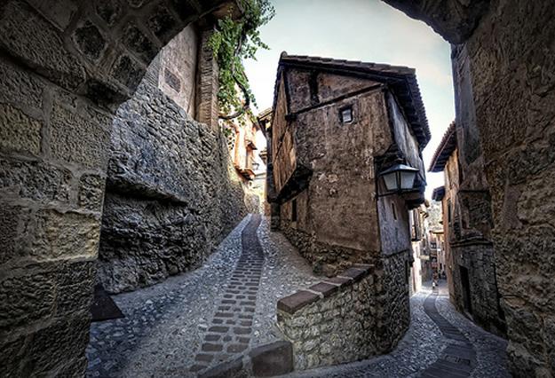 Albarracín es uno de los más bonitos de España, declarado Conjunto Histórico-Artístico por la Unesco