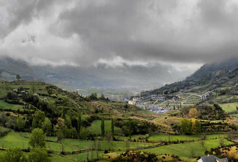 Nubes mañaneras. Foto: Jorge Mayoral