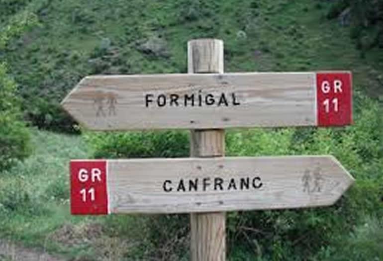 La etapa entre Candanchú y Sallent suma 23 kilómetros atravesando Canal Roya y rodeando el pico Anayet.